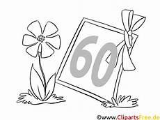 ausmalbilder geburtstag blumen blume zum 60 geburtstag ausmalbild kostenlos