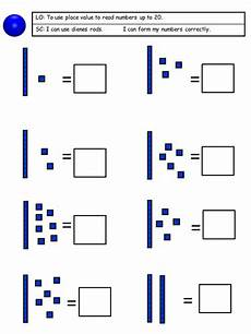 place value worksheets up to 20 5308 place value using dienes 3 days differentiated across 3 abilities teaching resources