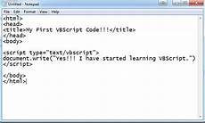 what is vbscript introduction exles