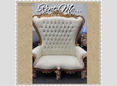 Throne King&Queen Chair Rentals&&