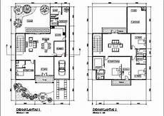 Layout Dari Gambar Merencanakan Desain Rumah 2 Lantai