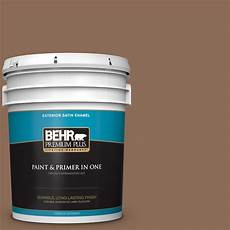 behr premium plus ultra 5 gal 740d 4 mochachino satin enamel exterior paint 985405 the home