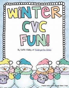winter cvc worksheets 19980 keepin it kool in kinderland holding on for dear a freebie