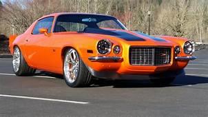 Check This Awesome Orange Pro Touring 1971 Chevrolet Camaro