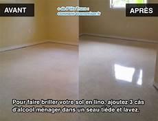 nettoyer sol lino vinaigre blanc l astuce pour faire briller votre sol en lino
