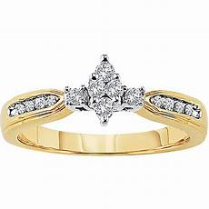 keepsake lovelight 1 4 carat t w certified diamond 10kt