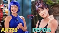 antes e depois antes e depois dos atores de carinha de anjo 2016 a 2018