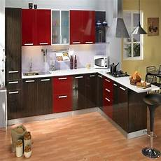 Kitchen Accessories Wholesalers In Hyderabad by Godrej Modular Kitchen With Marine Ply Shutter At Rs