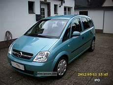 opel meriva 1 7 cdti 2004 opel meriva 1 7 cdti enjoy car photo and specs