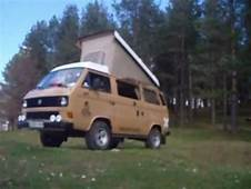 VW T3 WESTFALIA SPOT  YouTube
