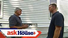 how to replace damaged vinyl siding ask this house