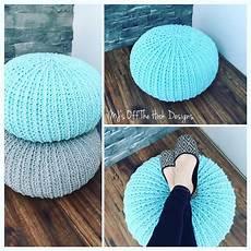 Crochet Floor Pouf A Written Pattern And Tutorial