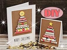 weihnachtskarten selber basteln 3 weihnachtsbaum