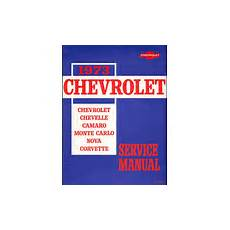 service repair manual free download 1973 chevrolet camaro parking system camaro service manuals haynes chilton factory