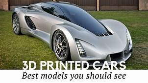 Top 10 3D Printed Cars  The Future Of Auto Manufacturing