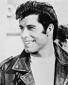 travolta as danny zuko in grease 24x30 poster leather