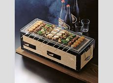 Charcoal Konro Grill with Net (Medium)   Korin Japanese