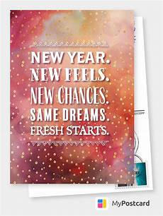 new year new feels new chances same dreams fresh starts happy new year cards send real
