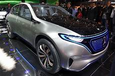 mercedes elektroauto mercedes previews new electric car lineup with generation