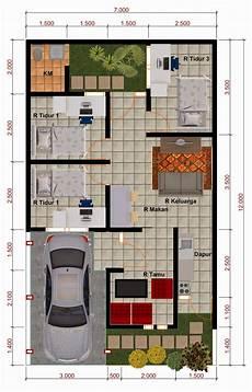 9 Ide Denah Rumah Minimalis Untuk Lahan Sempit Artikel