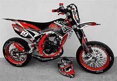 beta rr 50 motard track 233 quip 233 e d un pot voca rookie avec