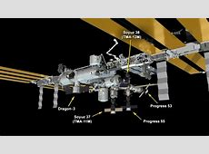 dragon capsule docking with iss