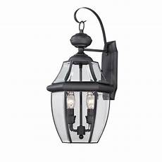 black outdoor wall light fixtures shop portfolio brayden 20 25 in h mystic black outdoor wall light at lowes com