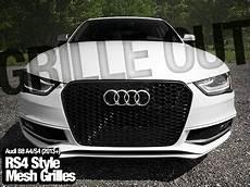 ecs news audi b8 rs4 style a4 s4 grilles