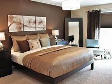 Gorgeous Chocolate Brown Master Bedroom With