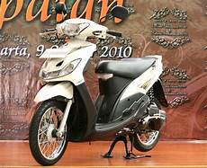Modifikasi Mio Standar by Modifikasi Mio Sporty Standar Warna Putih Modifikasi
