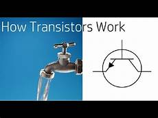 how transistors work a simple how transistors work simple youtube