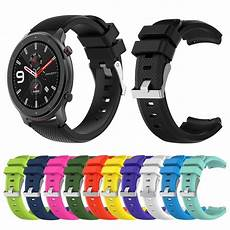 Bakeey Colorful 20mm Silicone Band by Bakeey Colorful Silicone Band For Amazfit Gtr 47mm