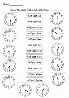 time worksheets ks1 quarter past 3066 time to the half hour by s0402433 uk teaching resources tes