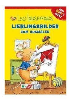 Leo Lausemaus Malvorlagen Pdf Buch Leo Lausemaus Lieblingsbilder Zum Ausmalen Pdf