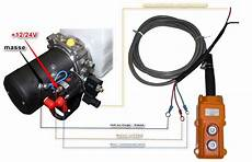 verin electrique 12v effet kit centrale bennage 24vdc