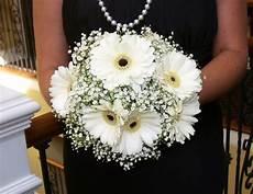 white gerber bouquet white gerbera bouquets silk gerber daisies bouquet