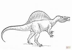 spinosaurus coloring page free printable coloring pages