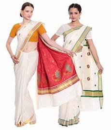 top 14 kerala cotton sarees fashion kiosks white kerala kasavu cotton saree with