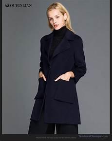 Veste Longue Femme Printemps Beige Manteau Noir Classe Femme