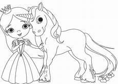 Ausmalbilder Prinzessin Und Einhorn Ausmalbild Prinzessin Kostenlose Malvorlage Prinzessin