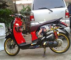 Scoopy Modif Standar by Finna Rz Modifikasi Honda Scoopy Racing Look Style
