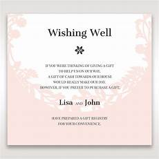 Wedding Gift Invitation Wording
