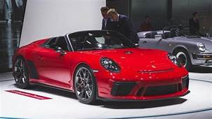 2019 Porsche 911 Speedster Limited Edition To Be Produced