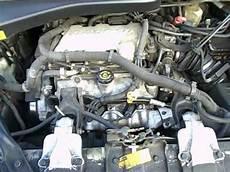 2001 Pontiac Montana Engine View