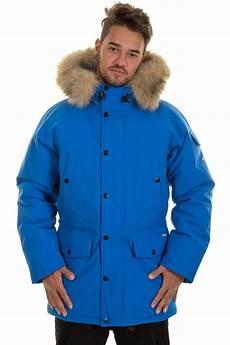 carhartt anchorage parka jacket imperial blue broken