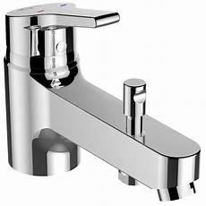 mitigeur baignoire mitigeur monotrou de baignoire chrom 233 brillant ideal