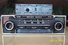 fs becker mexico am fm cassette stereo peachparts