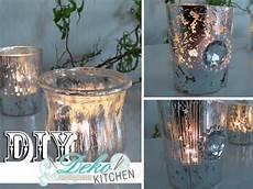 Glas Deko Selber Machen - diy windlichter im deko bauernsilber look einfach selbst