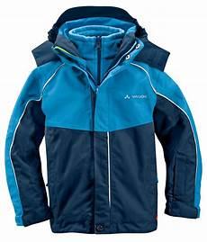 vaude kinder chion 3 in 1 jacket water 98