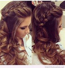 Curls To The Side Hairstyles